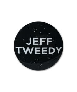 Jeff Tweedy Glow In The Dark Pin Badge from Bingo Merch Official Merchandise