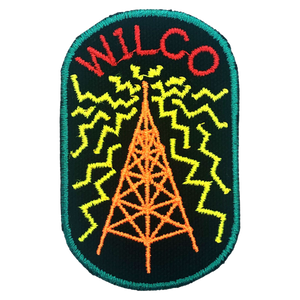 Radio Tower Patch - Green Border