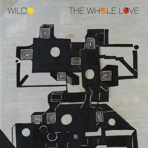 Wilco album The Whole Love on black Vinyl LP from Bingo Merch Official Merchandise