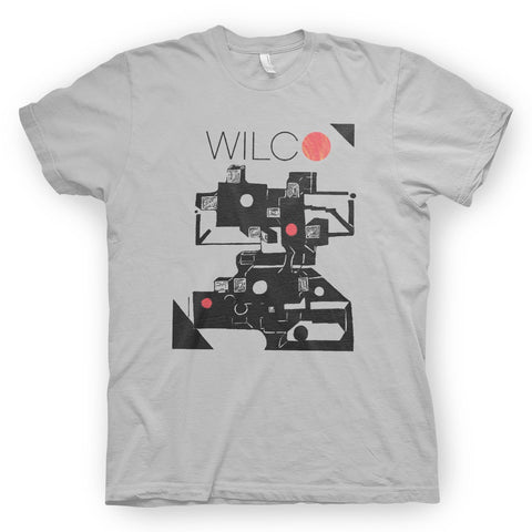 Wilco The Whole Love album artwork Tshirt from Bingo Merch Official Merchandise
