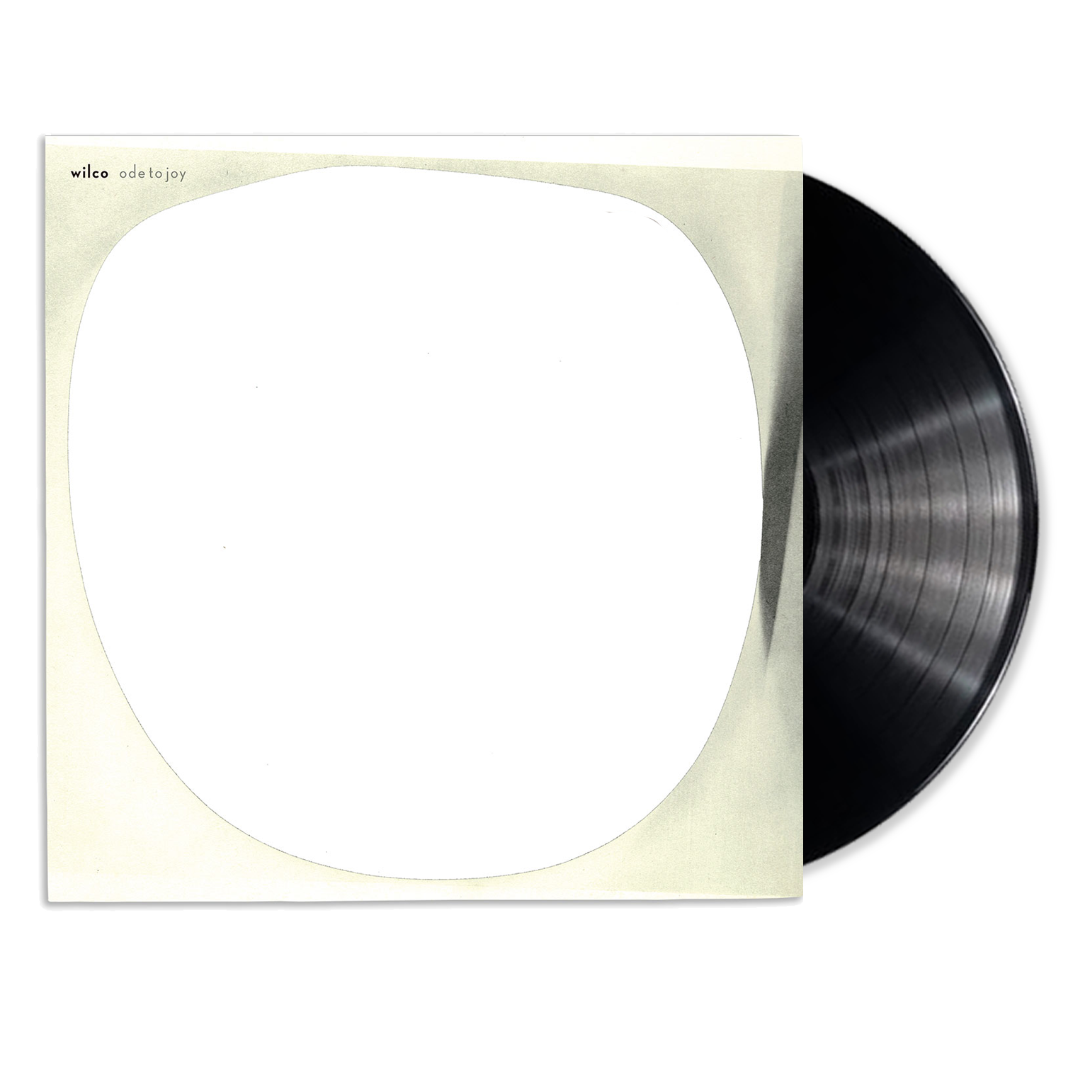 Wilco album Ode To Joy on black Vinyl LP from Bingo Merch Official Merchandise