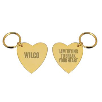 I Am Trying To Break Your Heart Keychain