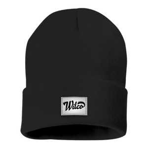 Wilco logo on a black Beanie Hat from Bingo Merch Official Merchandise