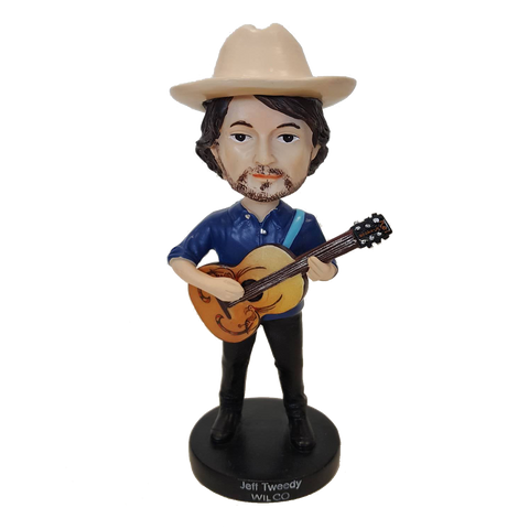 Wilco Jeff Tweedy Bobblehead from Bingo Merch Official Merchandise