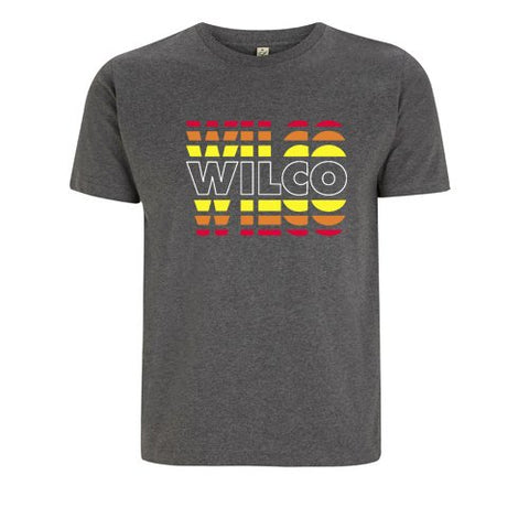Wilco Fade design on a grey Tshirt from Bingo Merch Official Merchandise