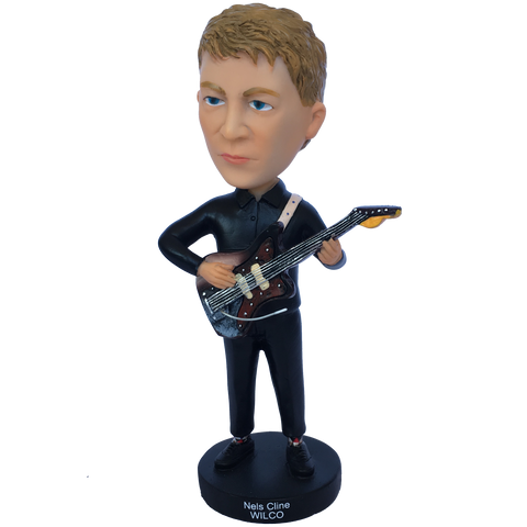 Wilco Nels Cline Bobblehead from Bingo Merch Official Merchandise