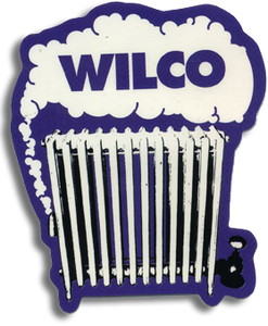 Wilco Radiator Sticker from Bingo Merch Official Merchandise