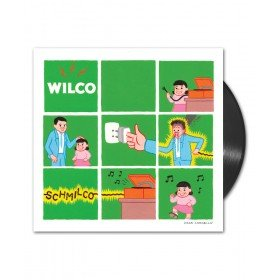 Wilco album Schmilco on black Vinyl LP from Bingo Merch Official Merchandise