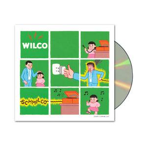 Wilco album Schmilco on CD from Bingo Merch Official Merchandise