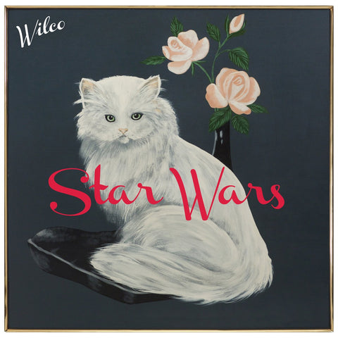 Wilco album Star Wars on black Vinyl LP from Bingo Merch Official Merchandise