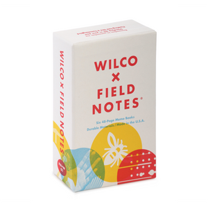 Wilco Field Notes Notebook Set collaboration from Bingo Merch Official Merchandise