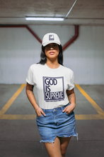 God is Supreme Big Navy 2Box / White T-shirt - God Is Supreme