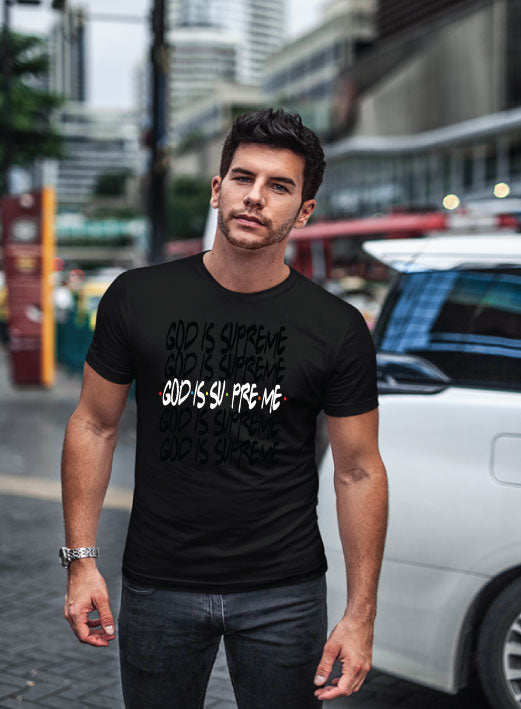 Friends of God Limited Edition / Black T-shirt