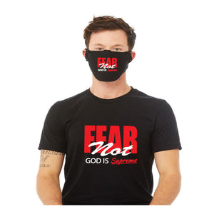 Fear Not God is Supreme / Unisex Black T-shirt