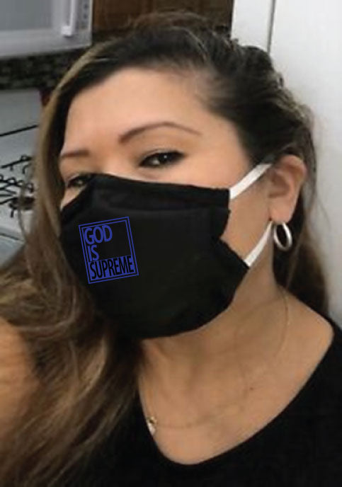 GIS Blue Box Fashionable, Washable, and Reusable Face Mask