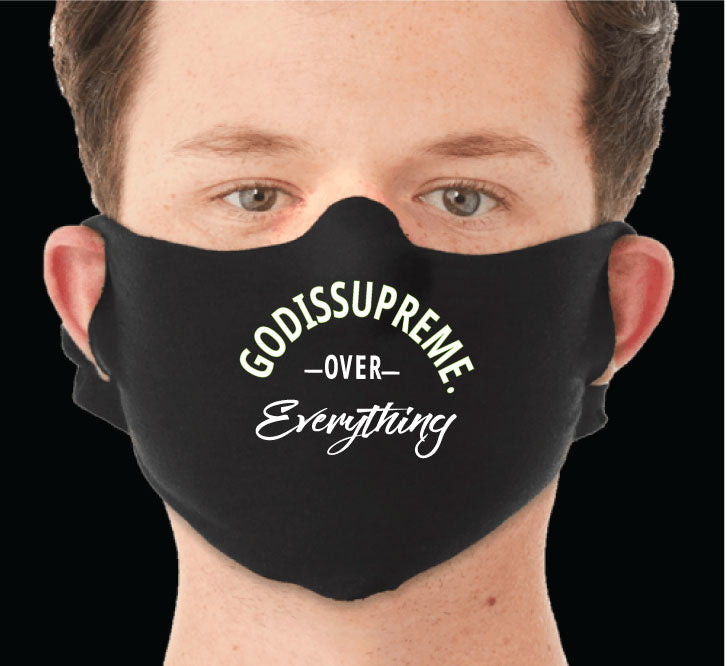 GIS Over Everything Fashionable, Reusable Face Mask