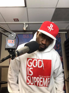 God is Supreme Red Box Hoodie - God Is Supreme