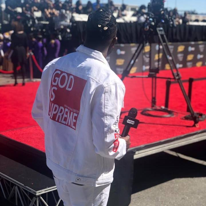 God is Supreme Light Blue Denim Jacket - God Is Supreme