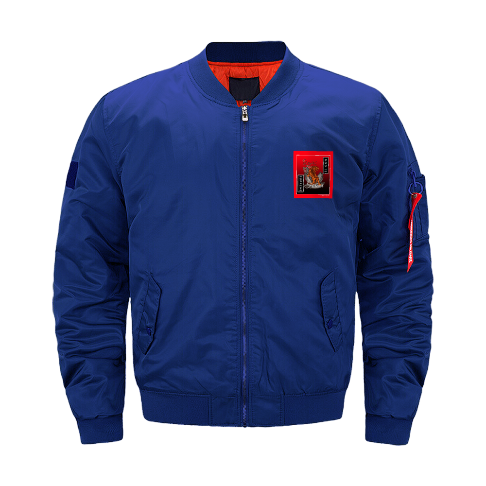 God is Supreme Forever Red Air Force Suit Jackets Baseball Coats