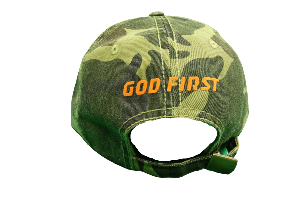 God First Dad Hat (Military Green or Black)