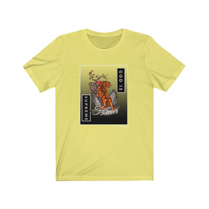 God is Supreme Forever (Yellow Unisex Tees)