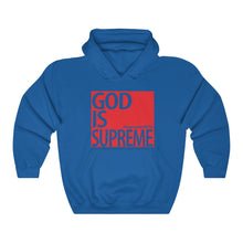 God is Supreme Red Box Heavy Blend™ Hooded