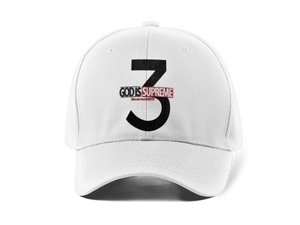 God is Supreme 3 FOR THE TRINITY (Dad Hat) - God Is Supreme