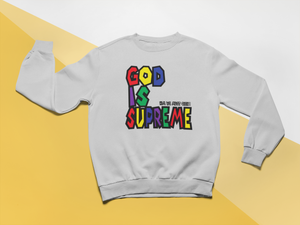 God is Supreme Wild Special Edition Long Sleeve (Sport Grey) - God Is Supreme