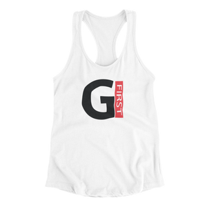 God First Tank Top  (White)