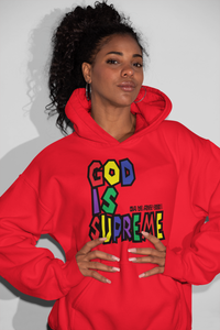 God is Supreme Colors Special Edition Red T-shirt - God Is Supreme