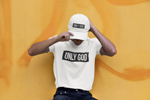 Only God/ White T-shirt