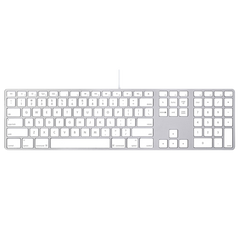 Keyboard with Numeric Keypad MB110LL/B