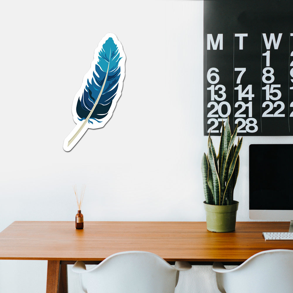 Feather Peel And Stick Wall Art