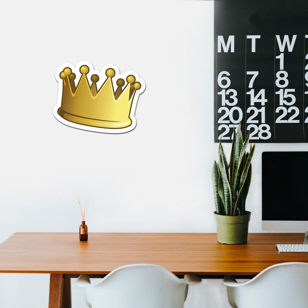 Crown Peel And Stick Wall Art