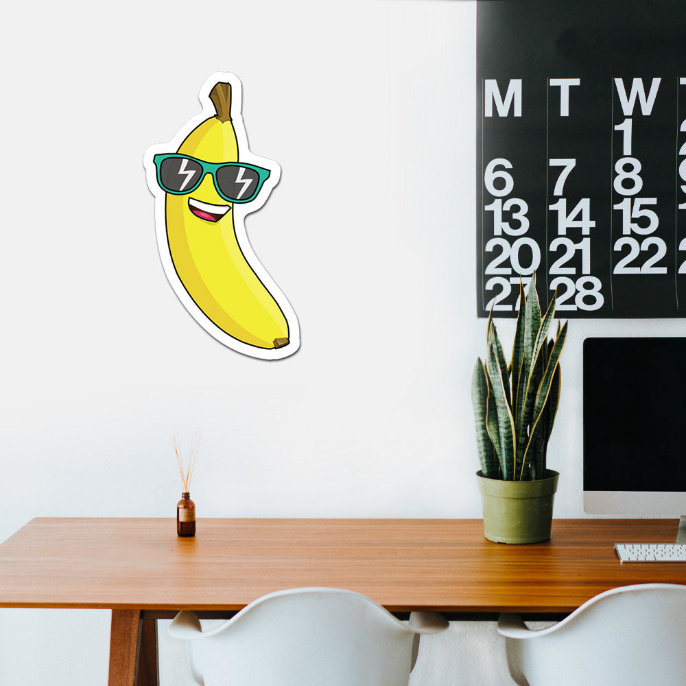 Cool Banana Peel And Stick Wall Art