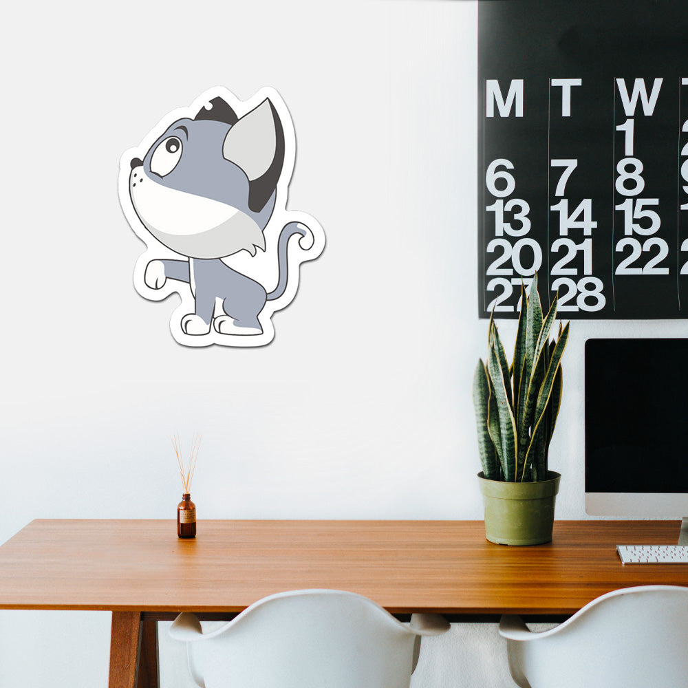 Cat Peel And Stick Wall Art