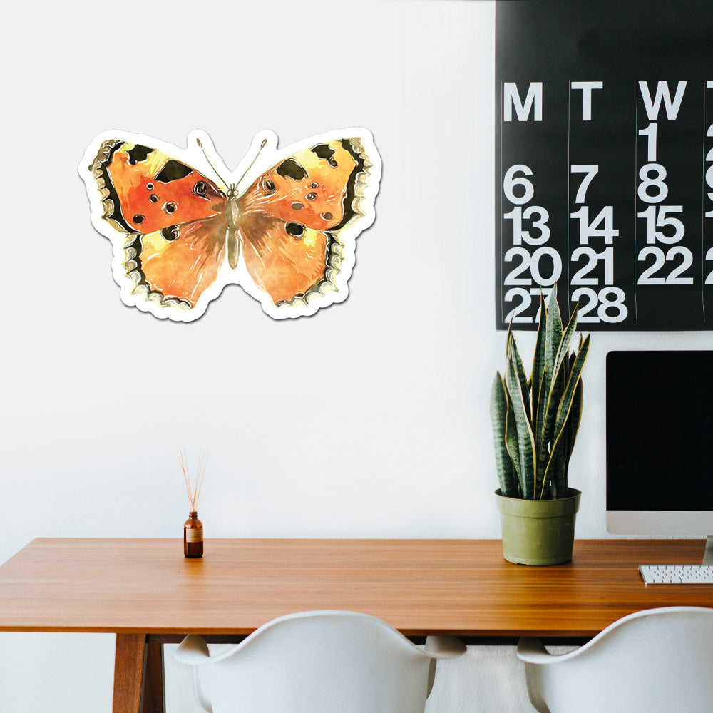 Butterfly Peel And Stick Wall Art