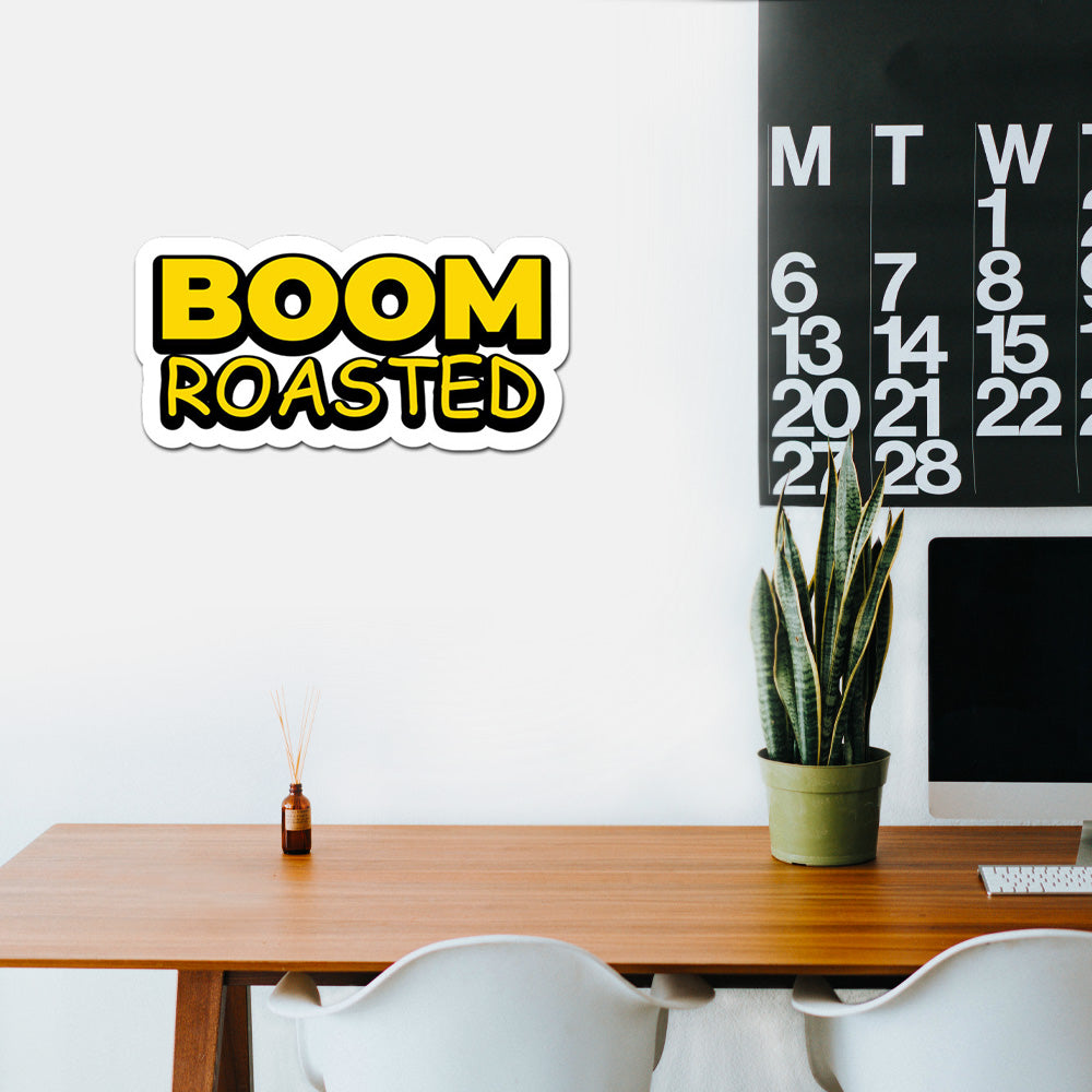 Boom Roasted Peel And Stick Wall Art