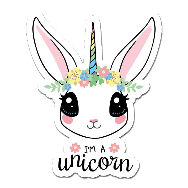 I'm A Unicorn Laptop Sticker