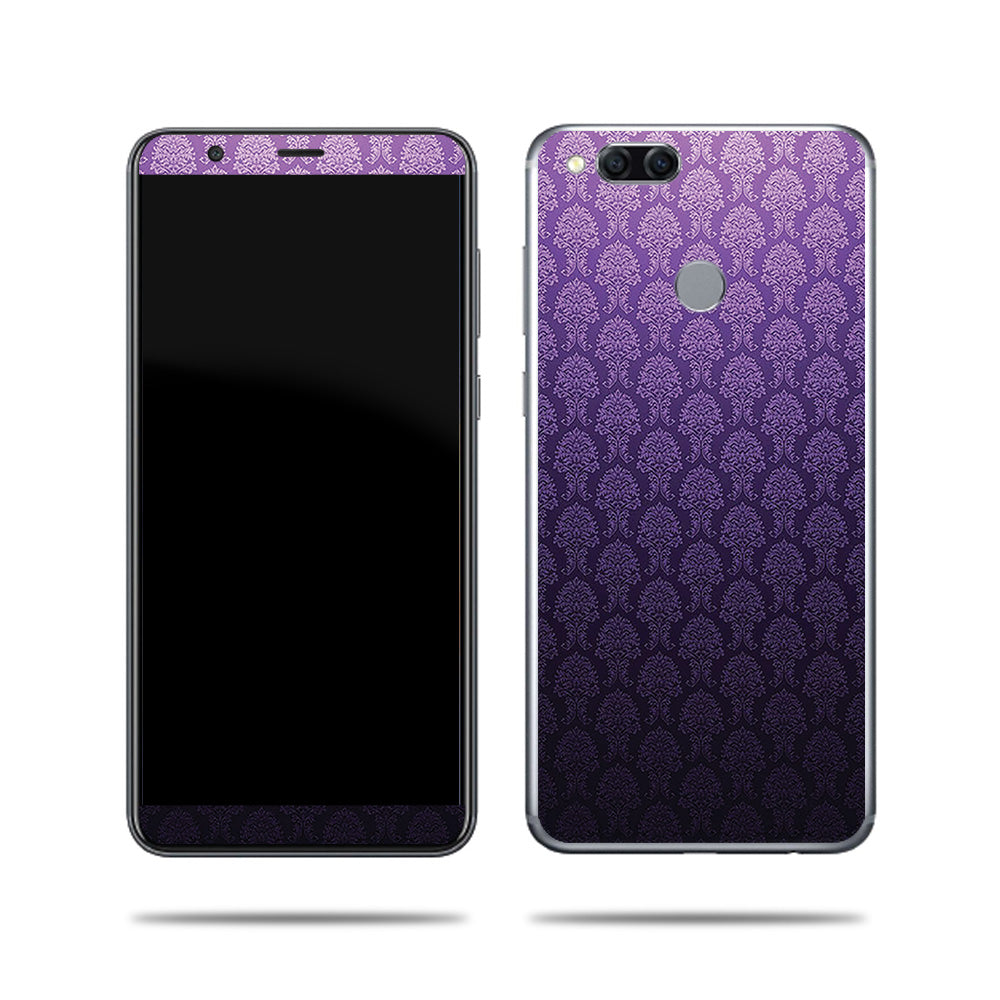 Antique Purple Design For Huawei Mate SE 9 Skin