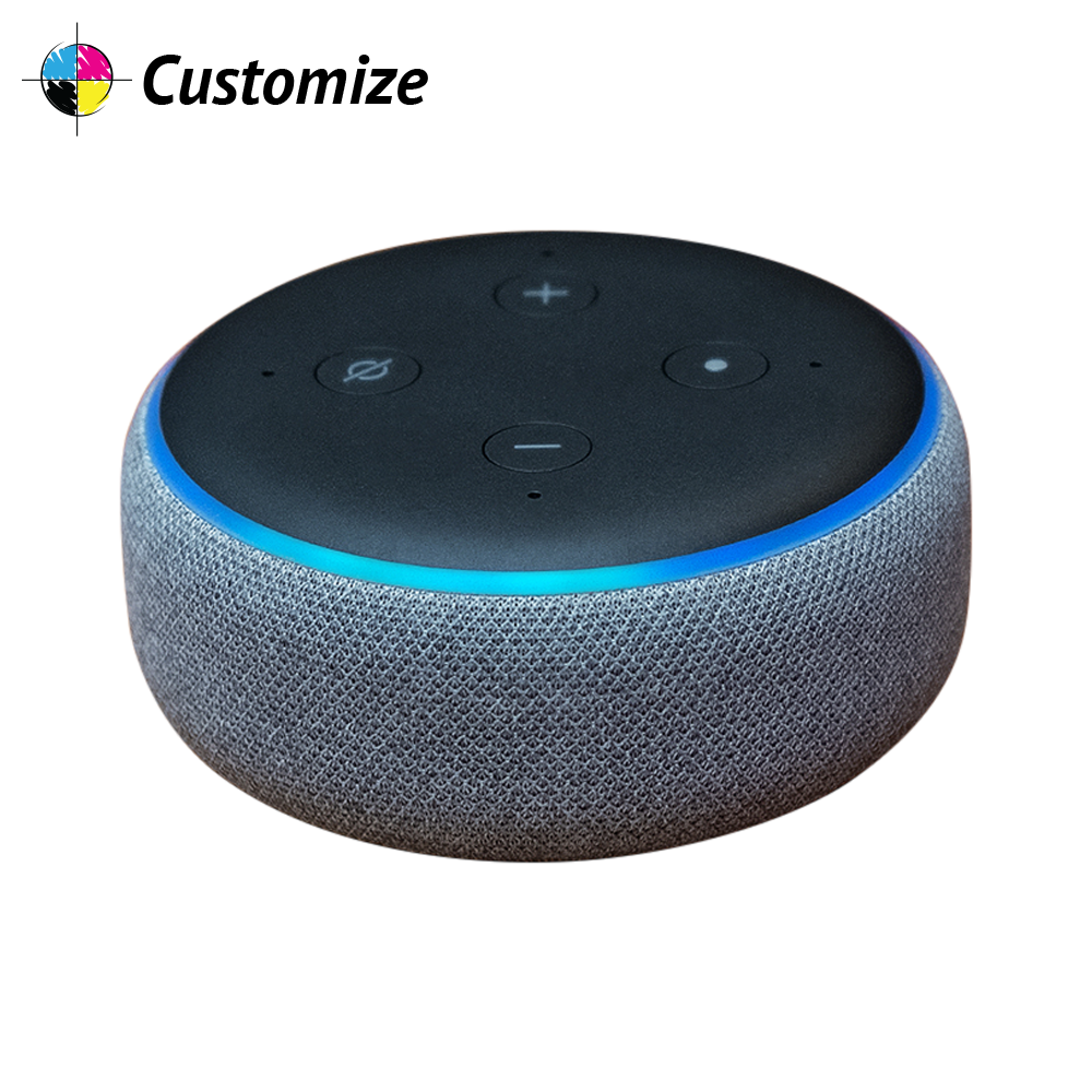 Amazon Echo Dot (3rd Gen) Custom Wraps & Skins