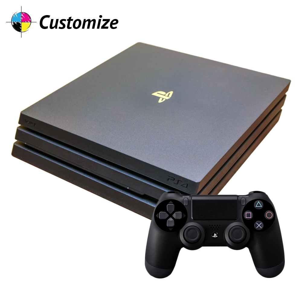 PS4 Pro & Controller Combo Custom Wraps & Skins