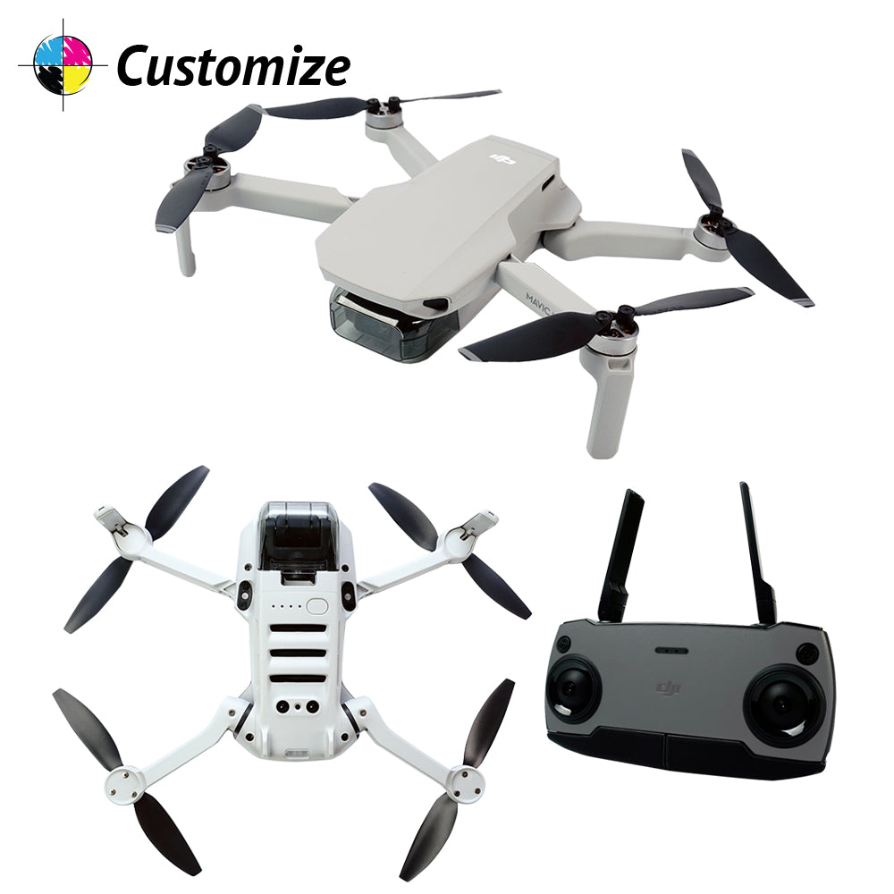 DJI Mavic Mini Portable Drone Quadcopter Custom Wraps & Skins
