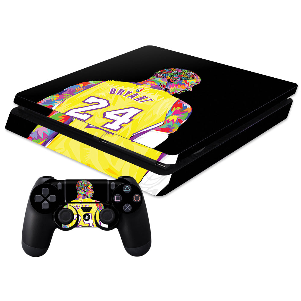 Black Mamba For Sony PS4 Slim and Controller combo Skin