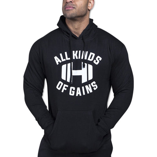 All Kinds of Gains Black Hoodie