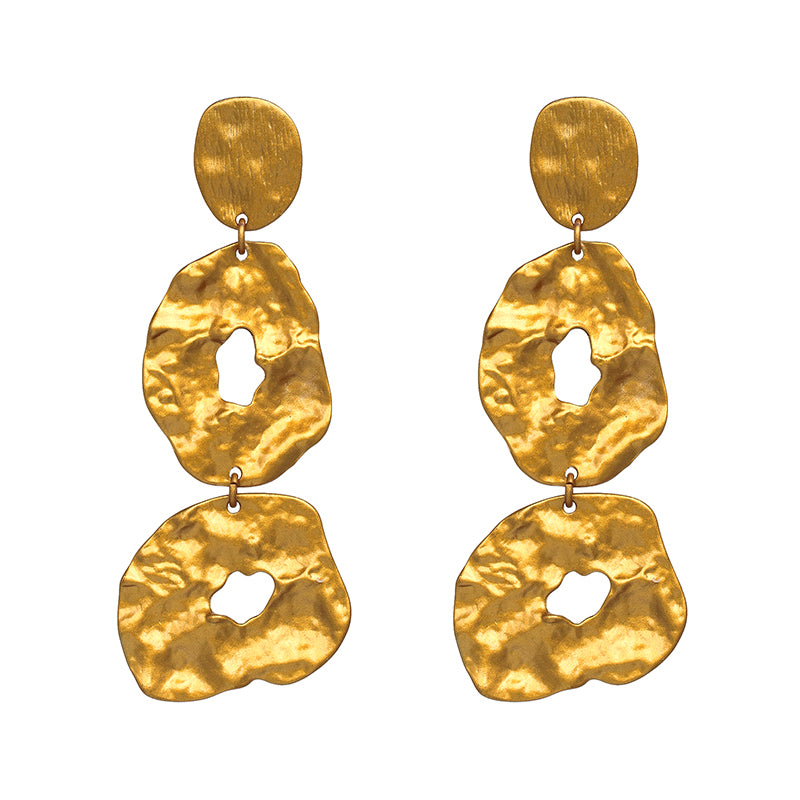 Mansa Musa Gold Earrings