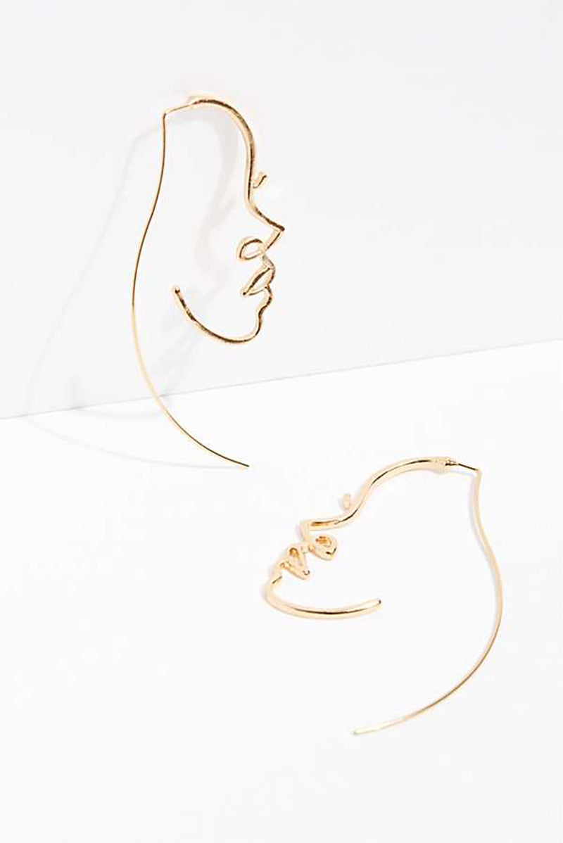 Femme Fatale Statement Earrings