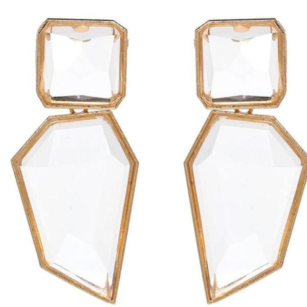 Clearly Geometrical Earrings