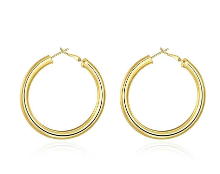 Latifah Hoop Earrings