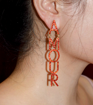 Amour Drop Earrings